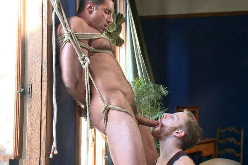 italian gay men bondage sex